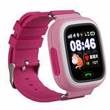 Смарт-часы детские Wonlex Q90 Pink Розовые, фото 4