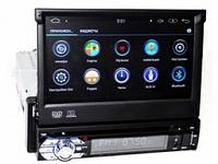 Автомагнитола Pioneer 1Din Dvd-9501 Android Gps С Выезжающим Экраном (Ml) автомобильная магнитола (пионер) Тмк