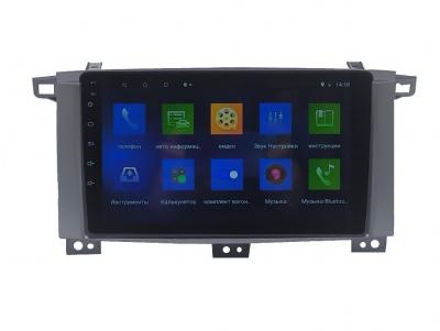 Автомагнитола штатная Sound Box для Toyota Land Cruiser 100 2005 магнитола Экран 9 Can Android 10.1