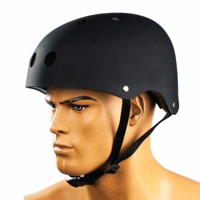 Шолом Bavarsport BS06 для трюкових самокатів, скейтів, пеннибордов розмір (S) чорний