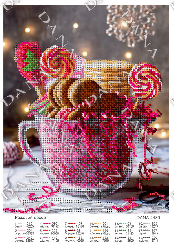Рожевий десерт