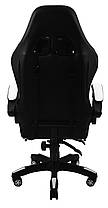 Кресло геймерское Bonro B-810 белое с подставкой для ног, фото 3
