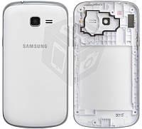 Корпус для Samsung Galaxy Trend S7390, белый, оригинальный