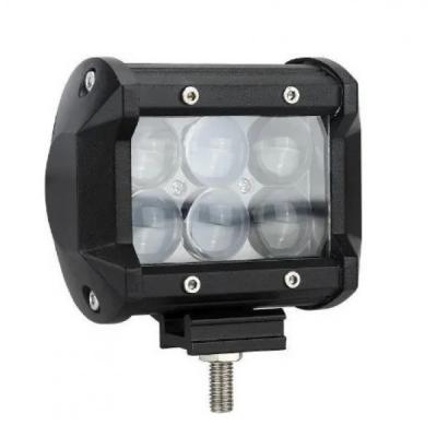 Автофара LEDна авто (6 LED) 5D-18W-SPOT (95 х 70 х 80) / Фара светодиодная автомобильная Китай (008994)