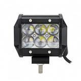 Автофара LEDна авто (6 LED) 5D-18W-SPOT (95 х 70 х 80) / Фара светодиодная автомобильная Китай (008994), фото 3