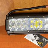 Автофара на крышу (18 LED) 5D-54W-MIX (235 х 70 х 80), Противотуманка Китай (008159), фото 2