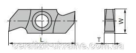 Ніж змінний тв/спл HW 34,0х16,0х3,2 СТОРР10 Ceratizit (Люксембург)