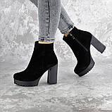 Ботильоны женские черные Dutchess 2353 (40 размер), фото 5