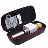 Беспроводной Bluetooth микрофон караоке MicGeek Q7 золотой, фото 2