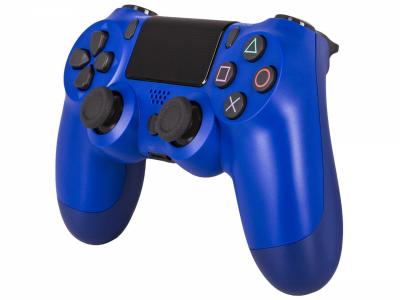 Беспроводной геймпад Wireless джойстик для PS4 Bluetooth синий