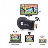 Беспроводной медиаплеер Anycast M4 Plus WiFi ресивер для проекторов и ТV, фото 3