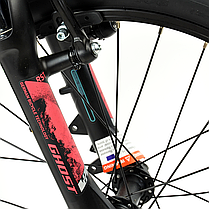 "Велосипед Ghost Lanao 2.0 20"" , рама XXS,  красно-черный, 2019, фото 3"