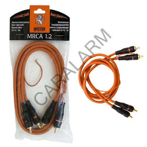 Межблочный RCA кабель MYSTERY MRCA 1.2