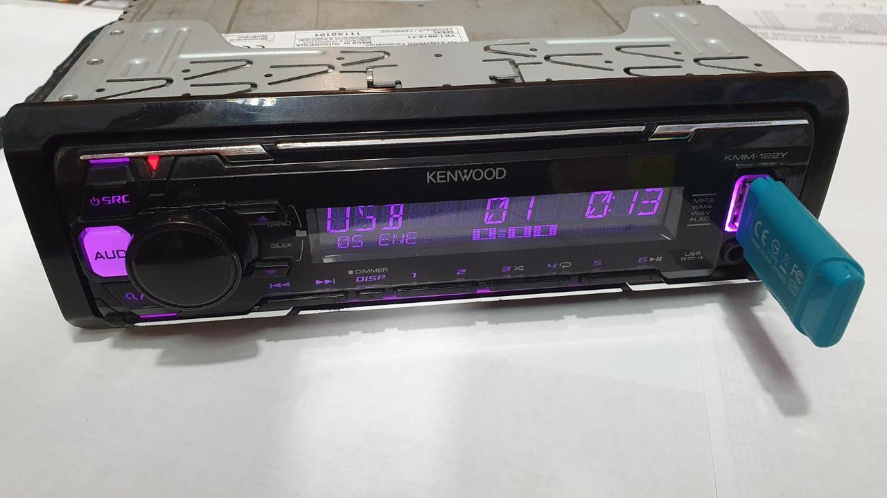 Автомагнитола Kenwood KMM-122Y Б/У