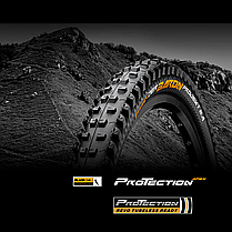 "Покрышка Continental Der Baron Projekt 26""x2.4, Фолдинг, Tubeless, ProTection Apex, Skin, фото 2"