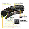 "Покрышка Continental Der Baron Projekt 29""x2.4, Фолдинг, Tubeless, ProTection Apex, Skin, фото 6"
