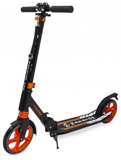 Двухколесный самокат Maraton Pro оранжевый GS07002