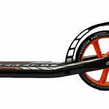 Двухколесный самокат Maraton Pro оранжевый GS07002, фото 4