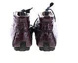 Мужские ботинки туфли D9127 коричневые, фото 3