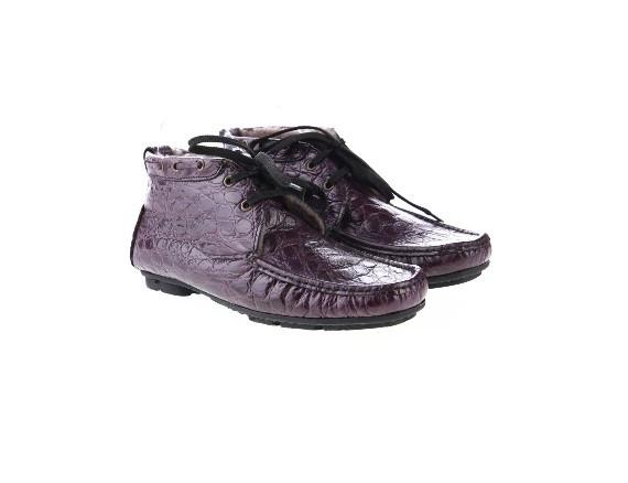 Мужские ботинки туфли D9127 коричневые