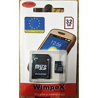Карта памяти WIMPEX microSD 32 GB