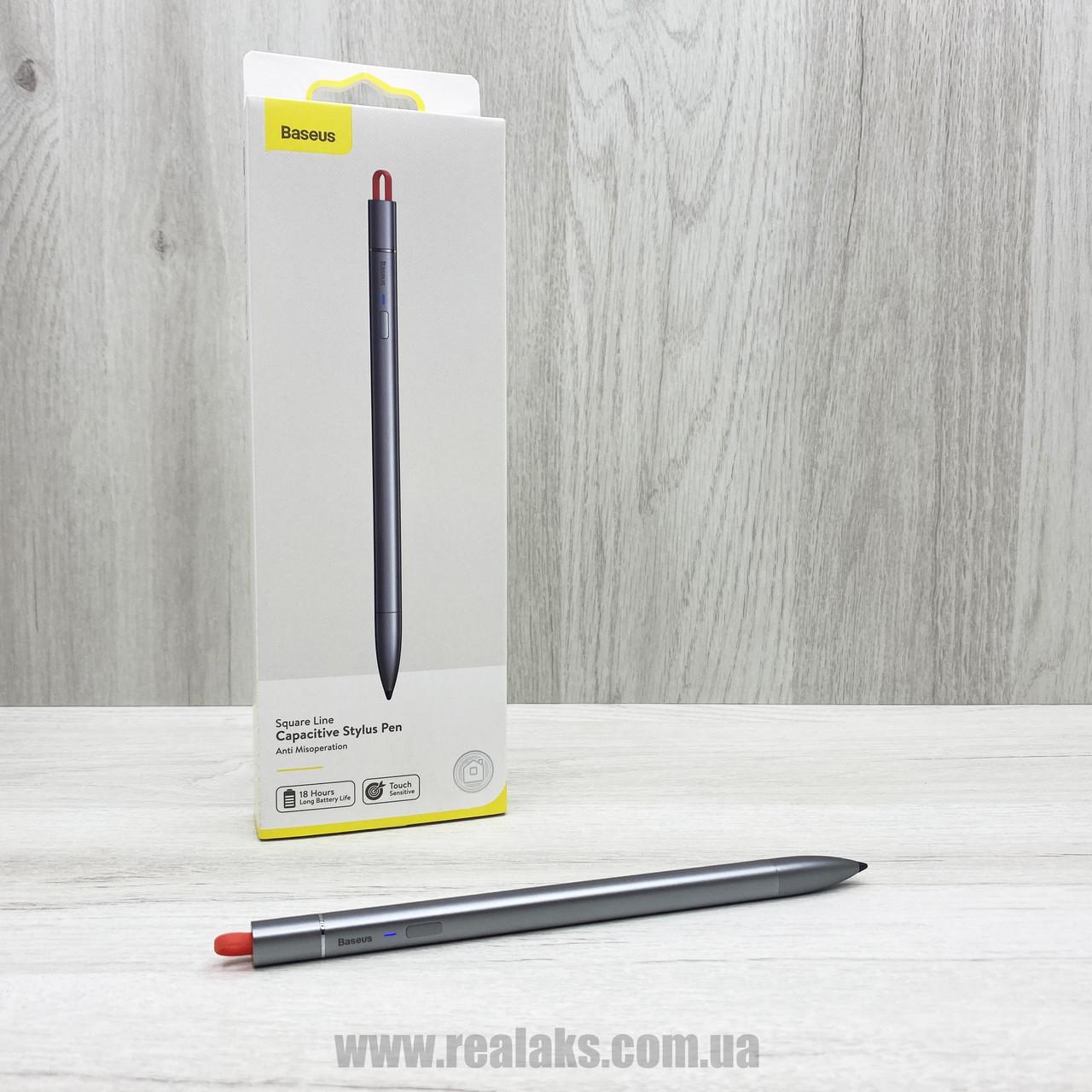 Стилус универсальный Baseus Square Line Capacitive Stylus Pen (CSP01)