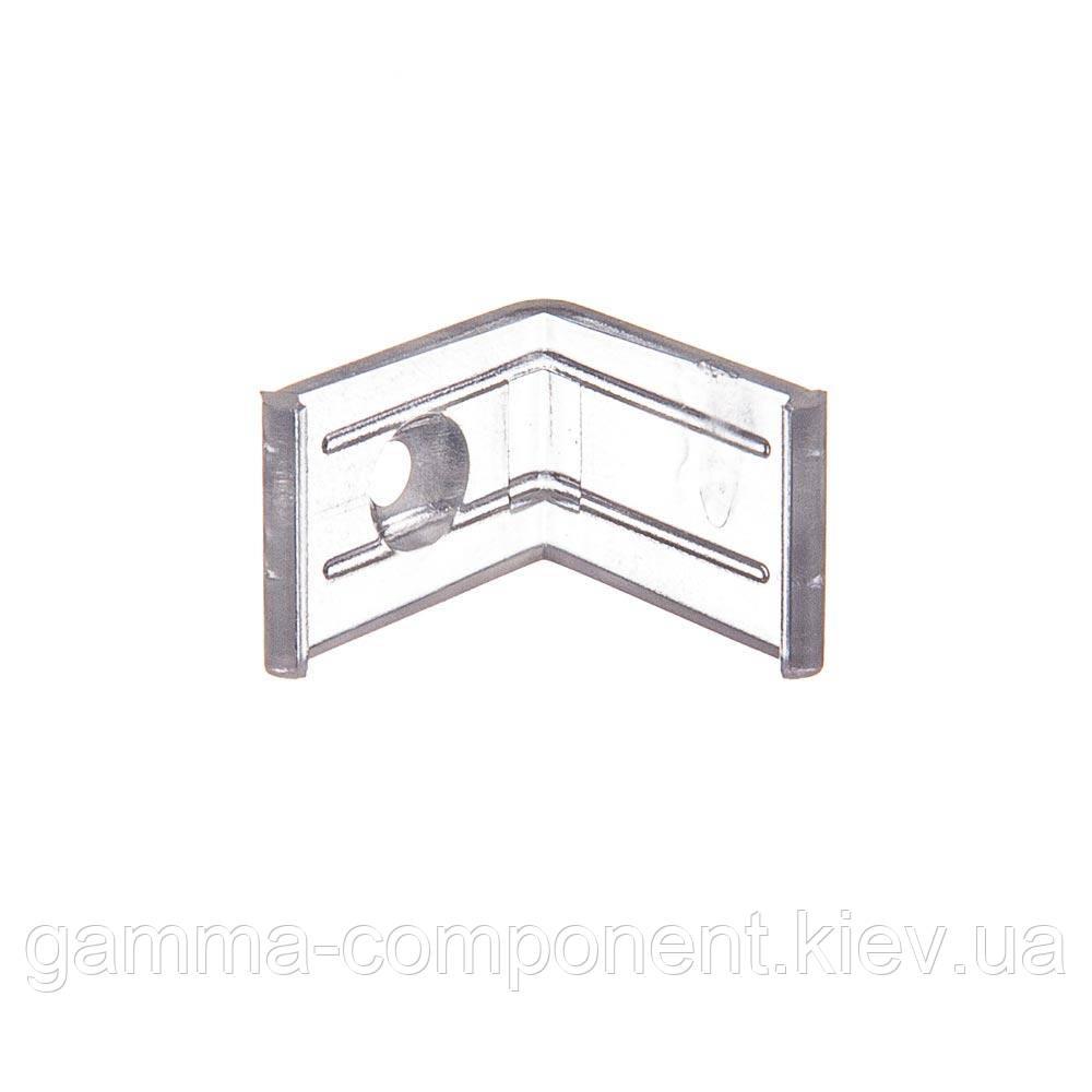 Крепеж пластиковый угловой для алюминиевого профиля ПФ-12