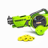 Детская игрушечная машинка-бластер 2-в-1 Car Gun K15, Салатовая, фото 3