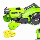 Детская игрушечная машинка-бластер 2-в-1 Car Gun K15, Салатовая, фото 4