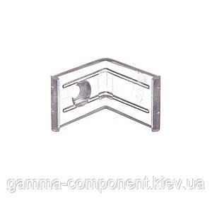 Кріплення пластиковий кутовий для алюмінієвого профілю ПФ-7