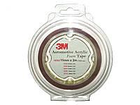 Скотч двухсторон. 3 М (32320) 9мм х2м x0.8мм 2шт/блистер (упаков.)
