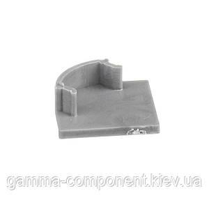 Заглушка для алюмінієвого квадратного профілю ПФ-8 глуха