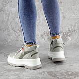 Кроссовки женские зимние серые Donno 2247 (38 размер), фото 3