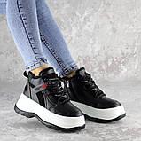 Кроссовки женские зимние черные Donno 2261 (37 размер), фото 2