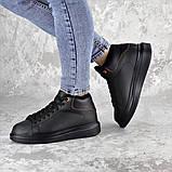 Кроссовки женские зимние черные Rover 2235 (37 размер), фото 7