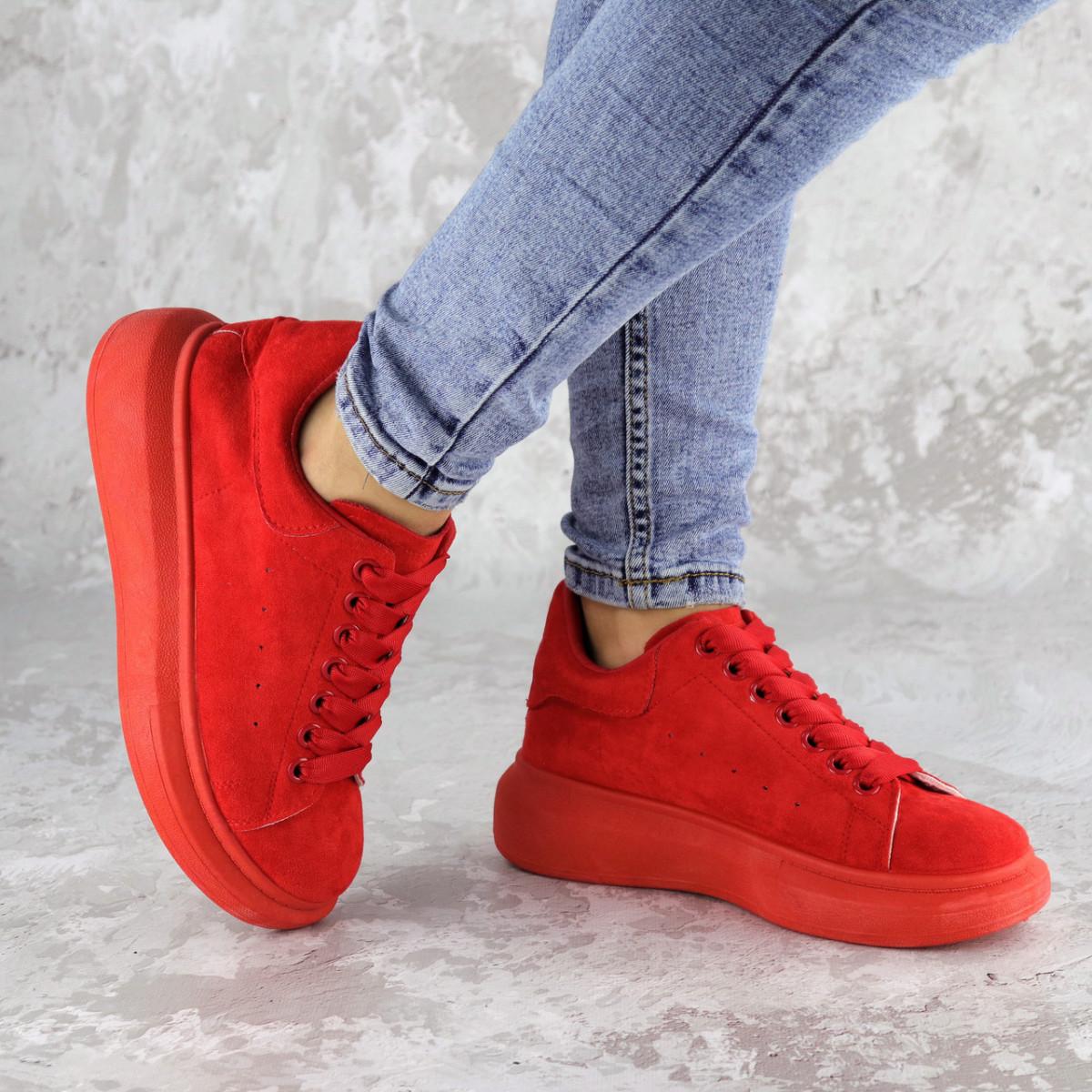 Кроссовки женские красные Cory 2187 (37 размер)