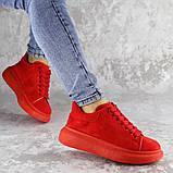 Кроссовки женские красные Cory 2187 (37 размер), фото 4