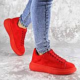 Кроссовки женские красные Cory 2187 (37 размер), фото 6
