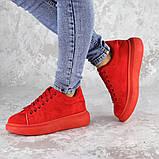 Кроссовки женские красные Cory 2187 (37 размер), фото 7