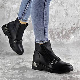 Ботинки женские зимние черные Jersey 2295 (36 размер)