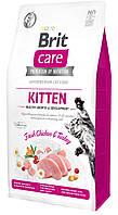 Brit Care Cat GF Kitten HGrowth & Development, 2 кг (здоровый рост и развитие)