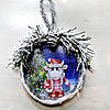 Игрушка на ёлку  Бычок Новогодний сувенир символ 2021 года