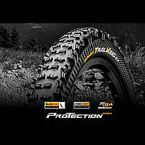 "Покрышка Continental Trail King 2.2, 27.5""x2.20, 55-584, Foldable, PureGrip, Performance, Skin, черный, фото 3"