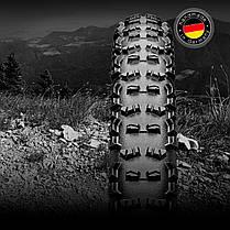 "Покрышка бескамерная Continental Trail King, 27.5""x2.60, 65-584, черная, складная, BlackChili, ProTection, фото 2"