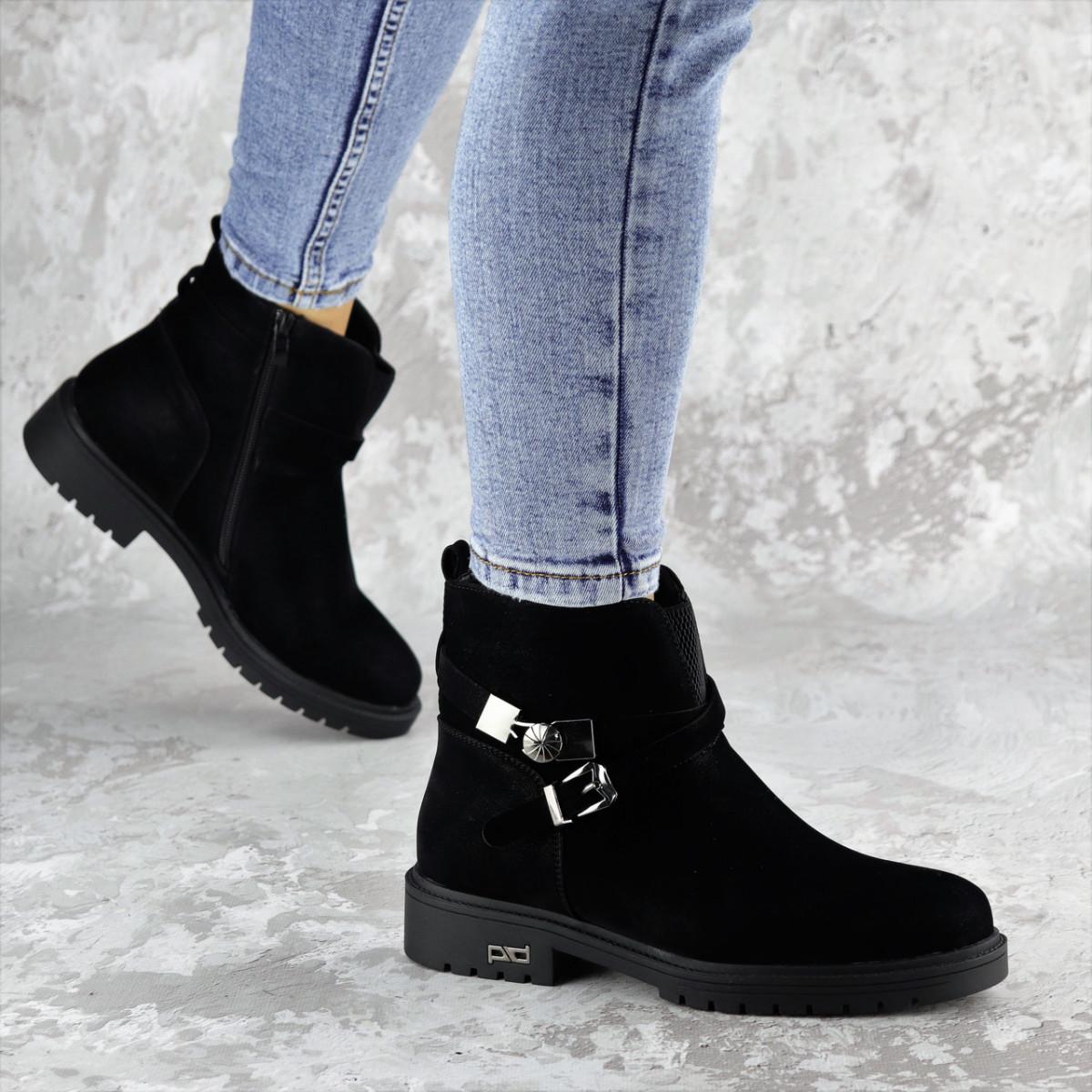 Ботинки женские зимние черные Whip 2208 (36 размер)