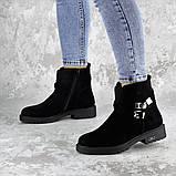 Ботинки женские зимние черные Whip 2208 (36 размер), фото 5