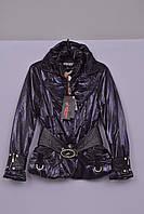 Л-199 Куртка зимняя  для девочки рост 164 фиолетовая, фото 1
