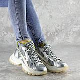 Ботинки женские серебристые Rowan 2395 (36 размер), фото 3