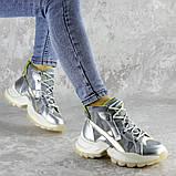 Ботинки женские серебристые Rowan 2395 (36 размер), фото 5
