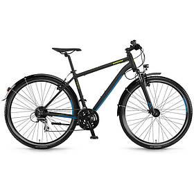 """Велосипед Winora Vatoa 24 men 24 s. Acera 28"""", рама 56 см, черный матовый, 2020"""